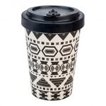 BAMBOO CUP AZTEC WHITE/BLACK BLACK -  - Wood Way