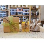 Bomboniera Ecosostenibile - Sapone 100% Naturale e Confetti ( personalizzabile ) -  -