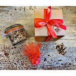 Bomboniera Ecosostenibile - Barattolino con 50gr di Tisana e Confetti ( personalizzabile) -  -